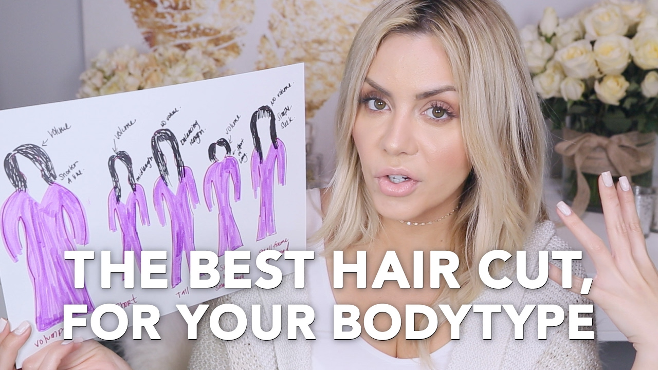 The Best Hair Cut For Your Body Type Youtube