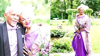 86 летняя невеста «взорвала» интернет свадебным платьем! Увидев ее, жених потерял дар речи!