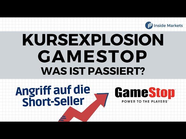 Gamestop-Aktie: Über 100 % Kursanstieg durch einen Flashmob