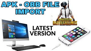 HOW TO COPY PUBG FROM MOBILE TO PC | APK - OBB FILE IMPORT | TENCENT EMULATOR