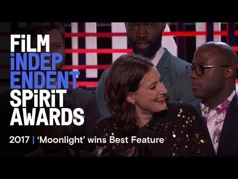MOONLIGHT wins Best Feature at the 2017 Film Independent Spirit Awards