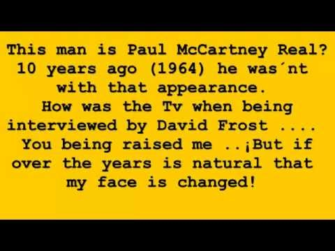Paul is dead : Paul in 1974 rare ,and Real Paul in 1964, only the true [HD]