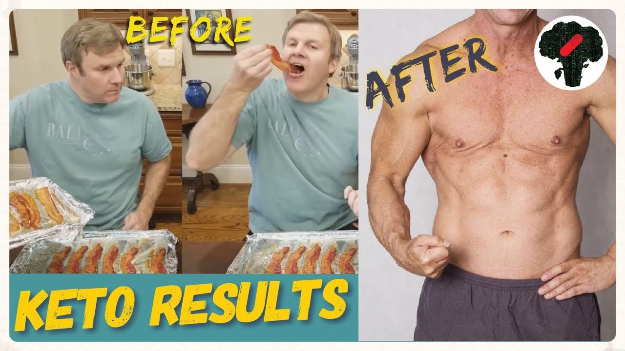 Keto Diet Before After Men - YouTube
