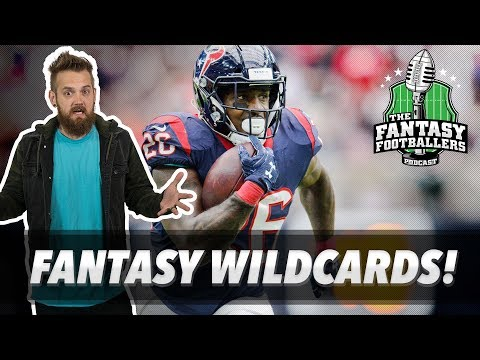 Fantasy Football 2018 - Fantasy Wildcards & Dark Horse Teams - Ep. #549