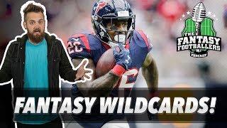 Fantasy Football 2018 - Fantasy Wildcards & Dark Horse Teams - Ep. #549