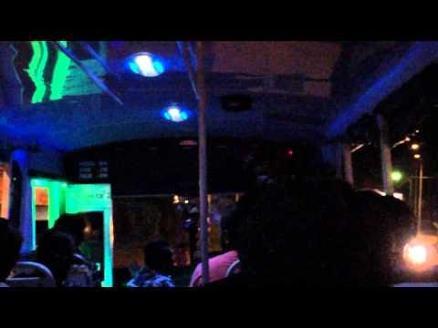 Disco bus in Fiji