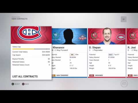 NHL 17 Franchise Mode - [Ep.18] Year 8 Offseason - BEST FREE AGENT EVER SIGNED