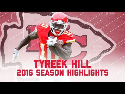 Tyreek Hill's Best Highlights from the 2016 Season | NFL