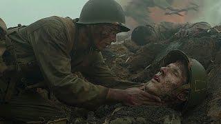 Командир закрыл гранату трупом. Фрагмент из фильма. По соображениям совести. 2016.