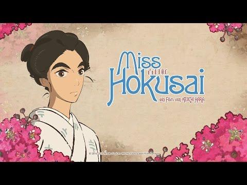 Miss Hokusai – (Anime-Trailer) Deutsch