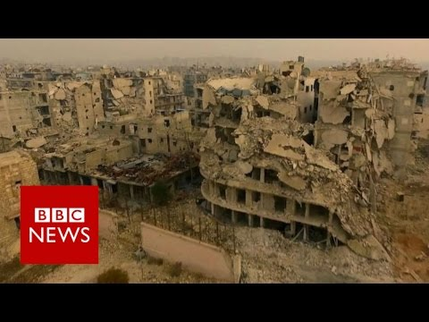 Aleppo 'haunted by