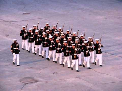 "After the ""Oops""; Marines Silent Drill Team, Fort Henry Guard 2009"