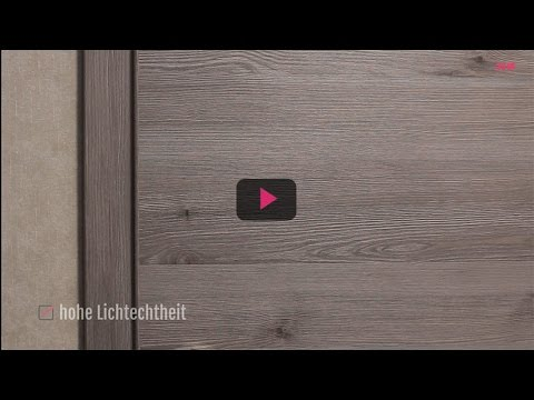 zimmert ren mit zarge cpl geb rstet silvergrey kaufen lagerware youtube. Black Bedroom Furniture Sets. Home Design Ideas