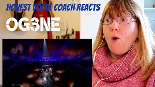 Vocal Coach Reacts to O'G3NE  'Lights and Shadows' The Netherlands LIVE 2017 Eurovision Song Contest