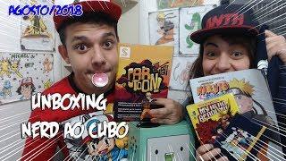 #nerdaocubo #caricatura #unboxing UNBOXING NERD AO CUBO TEMA de dibujos animados de AGOSTO de 2018