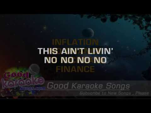 Inner City Blues -  Marvin Gaye (Lyrics Karaoke) [ goodkaraokesongs.com ]
