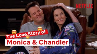 The Full Monica aฑd Chandler Story | Friends