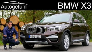 BMW X3 FULL REVIEW 2019 G01 30i - Autogefühl