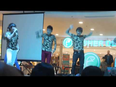"StarMYX live at Fisher Mall, Quezon City performed ""Talk Dirty"""
