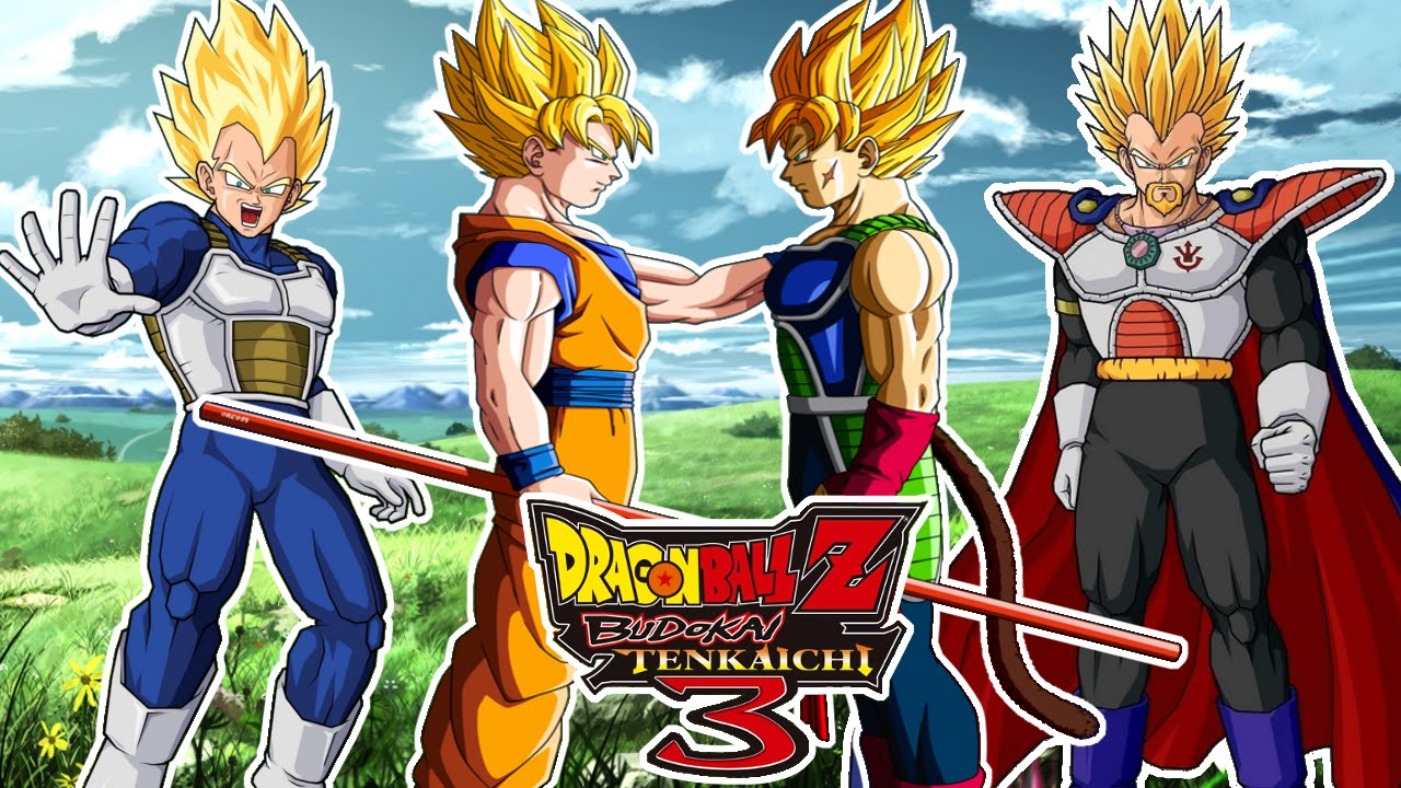 Dragon Ball Z Budokai Tenkaichi 3 : Bardock Y King Vegeta VS Goku Y Vegeta - ¿El Nuevo Rey Saiyan?