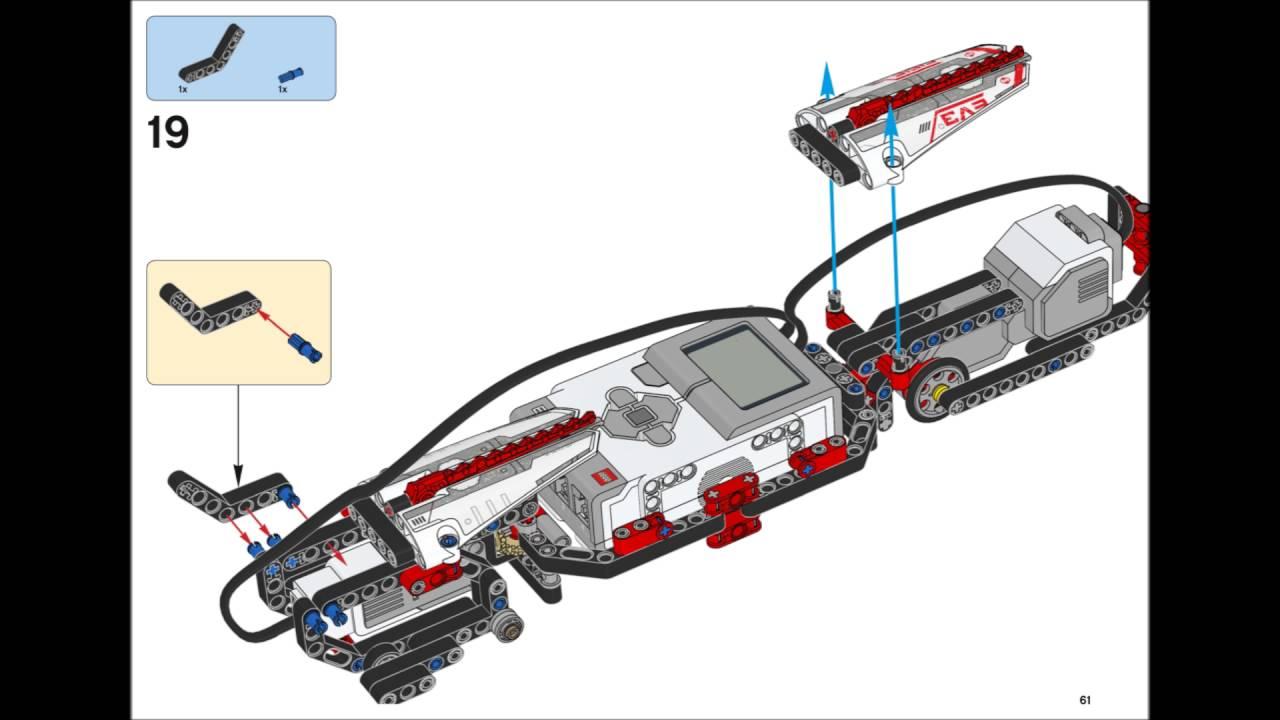 Lego Mindstorms EV3 31313 - R3PTAR Building Instructions ...