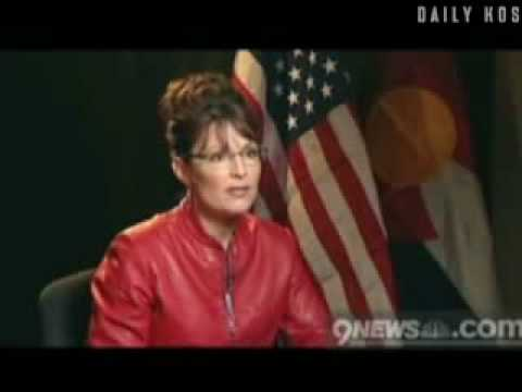 Sarah Palin says vice president Is In charge of United States Senate