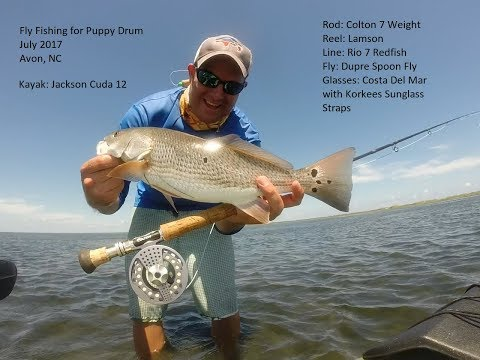 Fly Fishing For Redfish In The Outer Banks Of NC