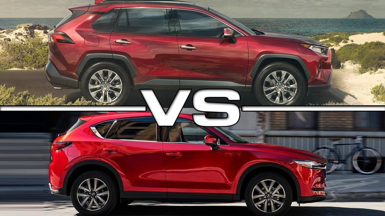 2019 Toyota Rav4 Vs 2018 Mazda Cx 5 Youtube