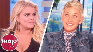 Awkward Ellen Interview Moments