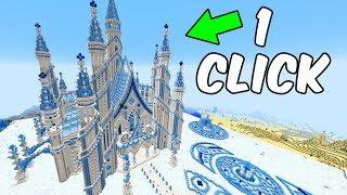 Minecraft | Estructuras instantáneas MOD (1 click y construye lo que quieras)