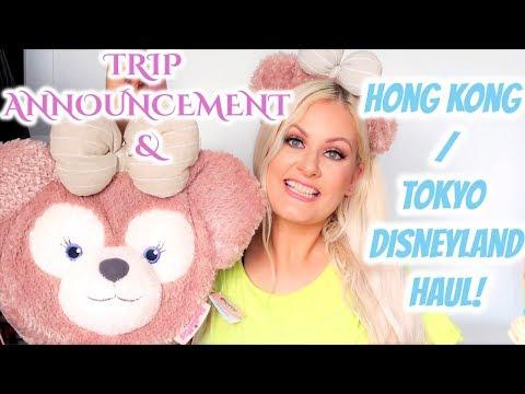 hong-kong-/-tokyo-disneyland-haul-&-trip-announcement!