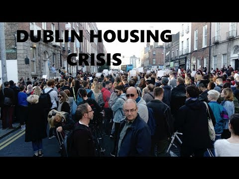 Dublin Housing Crisis Special - North Frederick street protest