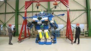 Японцы сделали робота, который превращается в автомобиль