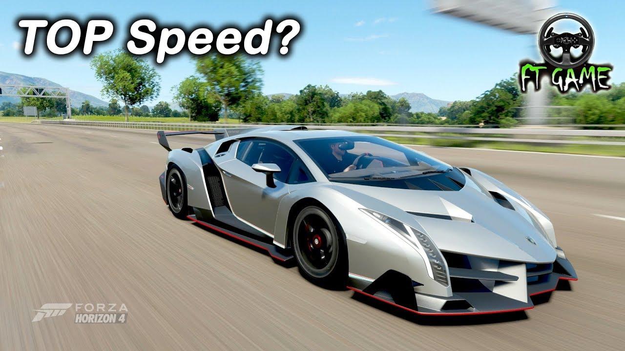 Lamborghini Veneno Gameplay and TOP Speed!