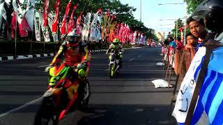 Full road race jln pahlawan semarang ,omr 150 speed up. 20-08-17