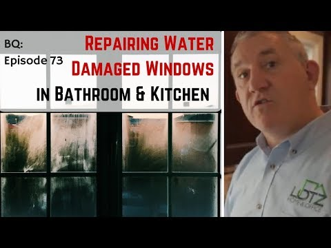 How to Repair Water Damaged Wood in Bathroom and Kitchen