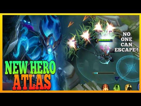 Atlas Guide 1 | Why New Hero Atlas is so Strong? | Master the Basics | Atlas Gameplay | MLBB