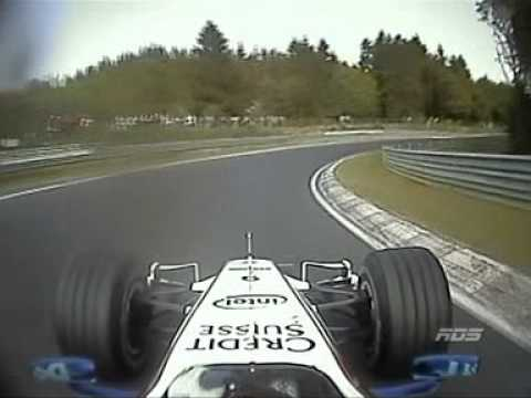 2007 F1 on Nurburgring Nordschleife - Nick Heidfeld (Full lap)