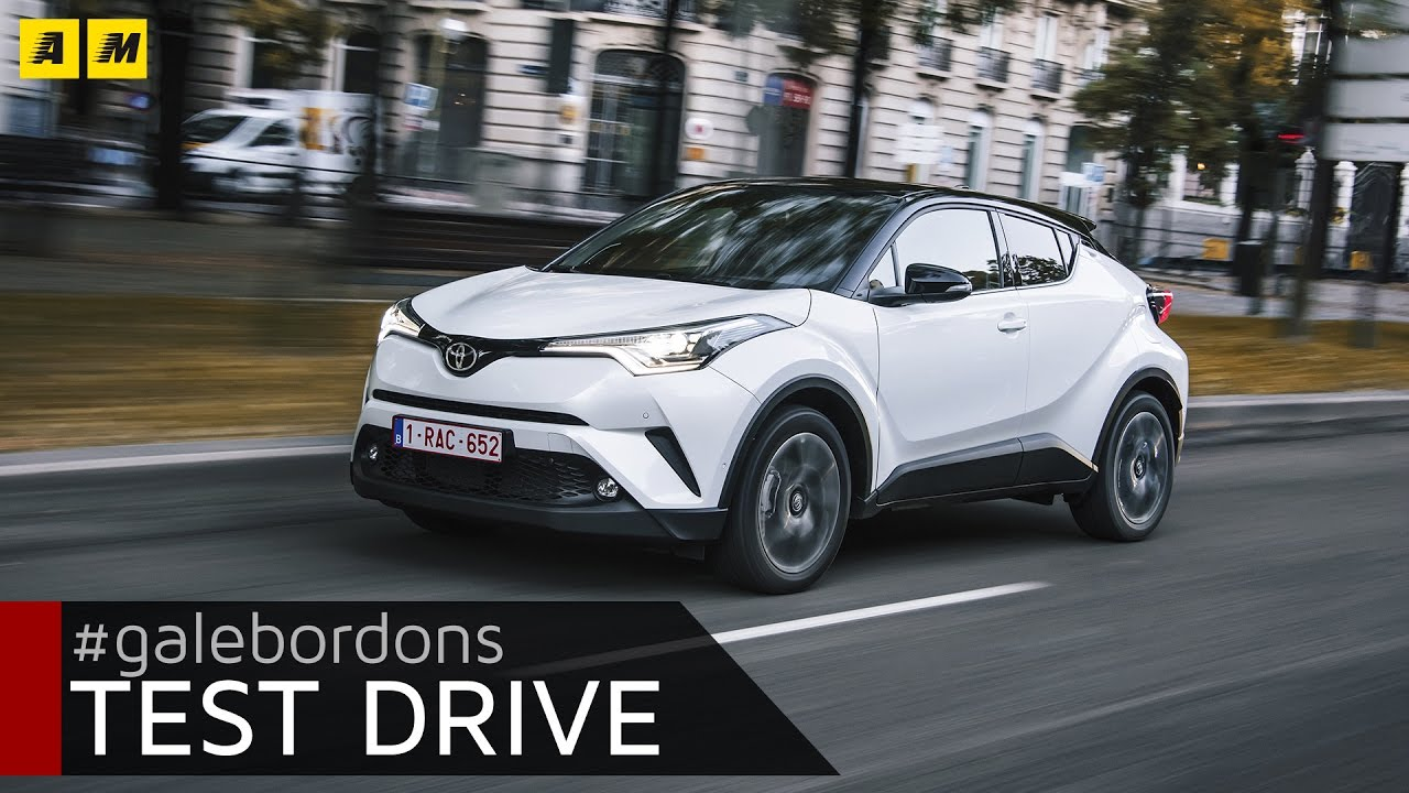 toyota c-hr | test drive #amboxing - youtube