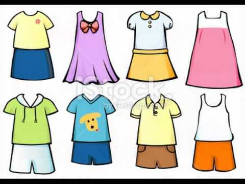 Summer and winter clothes 1 YouTube
