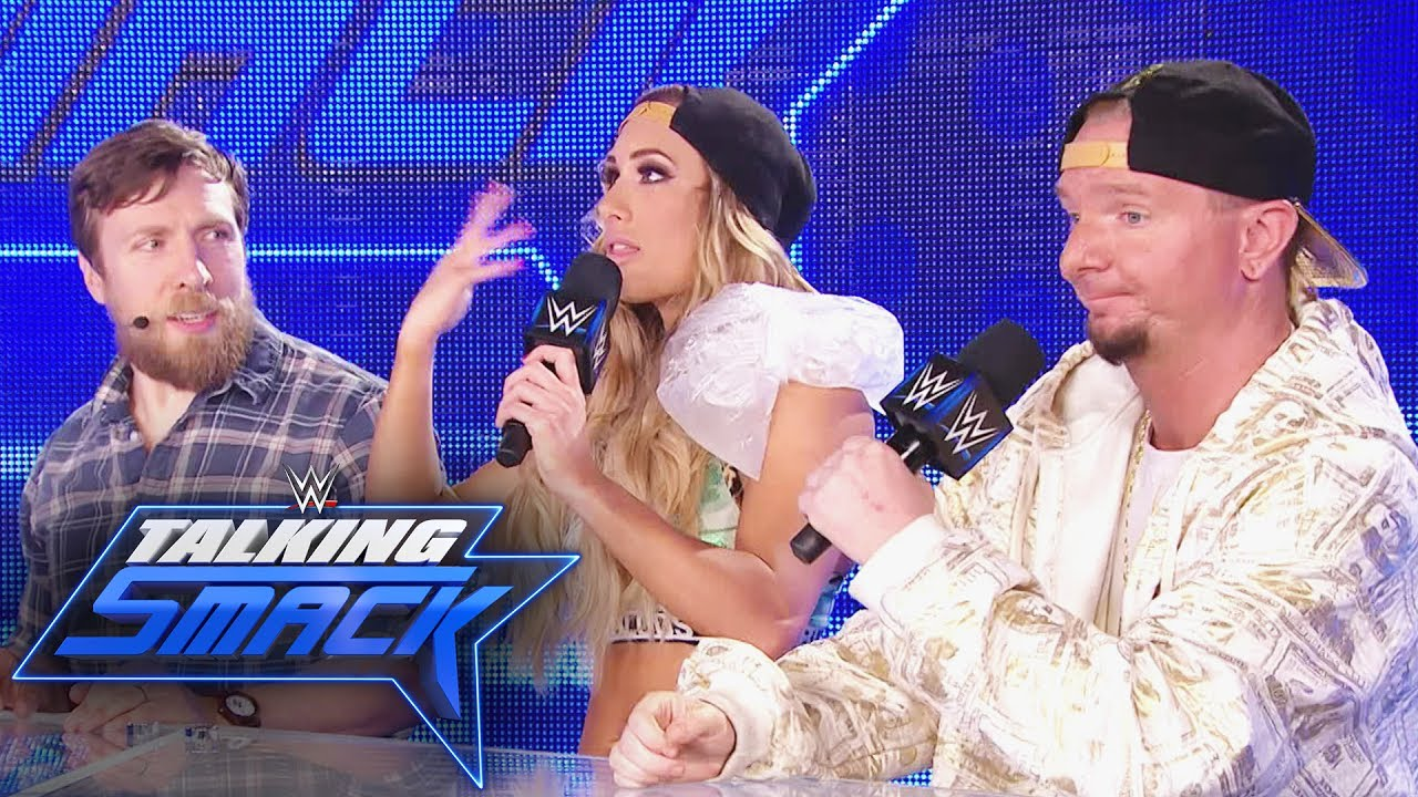 Download Will Ellsworth be able to interfere in next week's Ladder Match?: WWE Talking Smack, June 20, 2017