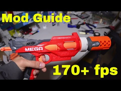 [Mod Guide] Nerf MEGA Hotshock (now fires Elite darts and Rival rounds)
