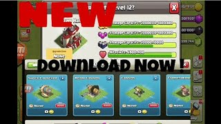 Clash of boom latest clash of clans private server with boom beach troops and building
