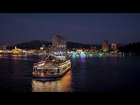 Coeur d'Alene Resort Holiday Lights Lake Cruise
