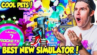 YOU HAVE TO SEE HOW AMAZING THIS NEW ROCKET SIMULATOR IS!! (Roblox)