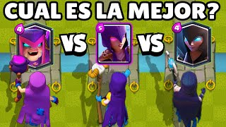 WHAT IS THE BEST WITCH? | WITCHS OLYMPICS | 1vs1 | NEW MOTHER WITCH | CLASH ROYALE