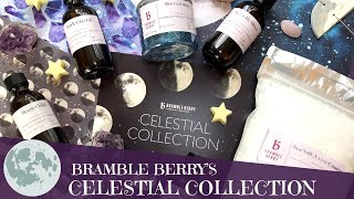 Bramble Berry Unboxing Celestial Collection FIRST YouTube Live Video