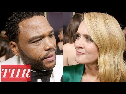 Download Youtube: Celebrities Share Their Dream TV Reboot on The 2017 Emmy Awards Red Carpet | THR