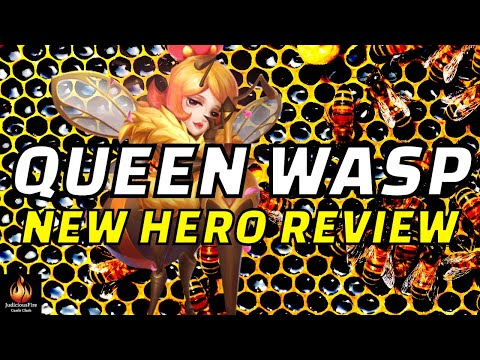 Queen Wasp Castle Clash New Hero