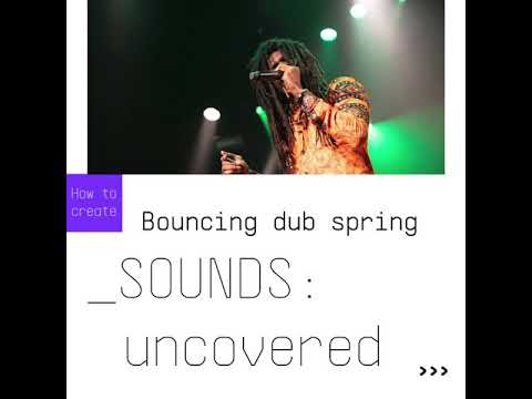 SOUNDS:uncovered |Bouncing dub spring using Rev SPRING-636
